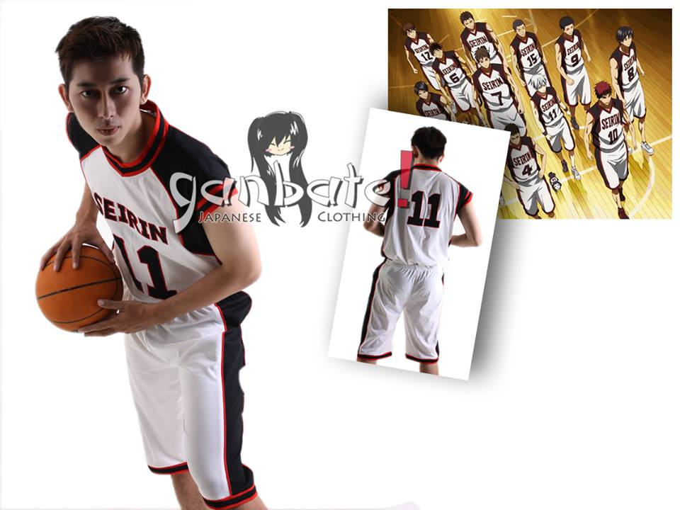 Seirin Basketball Club Jersey
